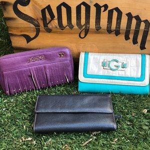 Handbags - Bundle of wallets!